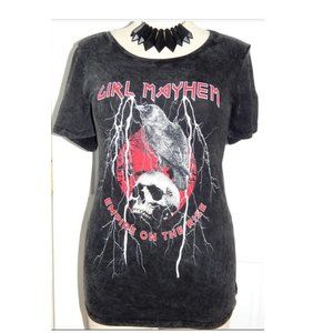 4X 26 Torrid Girl Mayhem Punk Gothic Graphic Tee